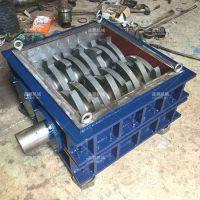 xp22油漆桶撕碎机设产线系统装有除尘设备