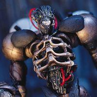 PLAY ARTS改 漫威Marvel PA改毒液 Venom 蜘蛛侠可动手办模型摆件