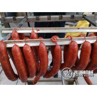 红肠生产全套设备 ,哈尔滨红肠烟熏炉生产厂家 ,全自动红肠蒸熏炉