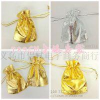厂价直销金银色纺纱袋 创意喜糖袋婚庆用品 糖果礼品纱袋喜糖包装