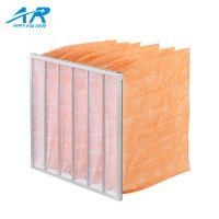 广东广州 中效袋式空气过滤器铝合金框无纺布可清洗除尘布袋F8级空气滤芯