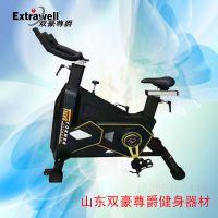山东双豪尊爵s-6500商用健身房室内直立式专业智能动感单车