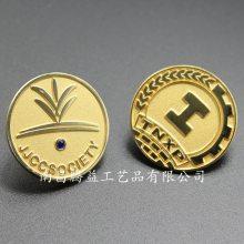 金属徽章定制价格 什么工艺的好