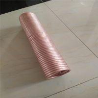 设计加工 波纹 厚壁 医用TP2紫铜管 按要求生产供应铜管 大口径铜管