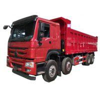 重汽卡车豪沃工程车8*4自卸车380马力新款驾驶室