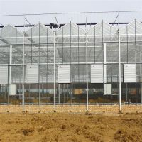 钢结构智能生态餐厅全玻璃温室大棚建造价格 现代化农业采摘生态玻璃温室