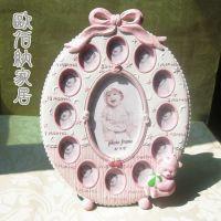 十三框泰迪熊宝宝组合相框欧式相架宝宝生日礼品可爱创意礼品批发