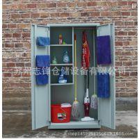 车间5S6S学校学生清洁柜卫生员工保洁柜拖把工具卫生用品收纳柜