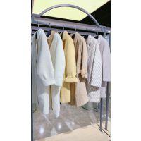 黄金貂第二批广州高第街服装工业品市场品牌折扣女装 秋冬曼天雨品牌折扣店绒美