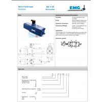 EMG伺服阀SV1-10 / 16/315/6
