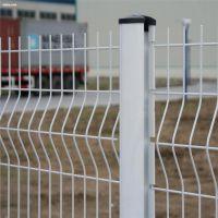批发桃型柱护栏网 围栏网隔离栅厂家 园林绿化浸塑栅栏