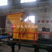 金属钢渣颗粒粉碎机 废旧易拉罐粉碎拆解机 高产量