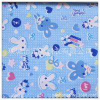 厂家直销纯棉布料床品面料全棉斜纹床单被套卡通布料儿童棉布