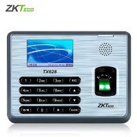 ZKTeco/中控智慧TX628科技彩屏指纹考勤机网络型打卡机手指签到机