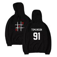 男式摇滚卫衣 Louis Tomlinson 91 单向组合 One Direction 1D