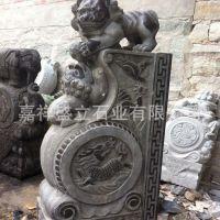 供应石雕仿古门墩 青石庭院别墅抱鼓石门鼓 可以定做