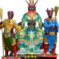 河南邓州市善缘佛像厂直销树脂牛王爷神像