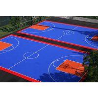 天津室外篮球场悬浮拼装运动地板