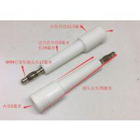 4MM香蕉插头高压棒插头插座耐压10KV高压接线柱插线端子连接器
