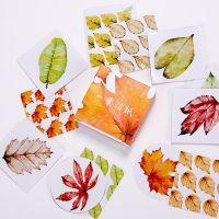 0788 创意精美异形盒装贴纸手账相册日记DIY装饰贴封口贴 40枚入