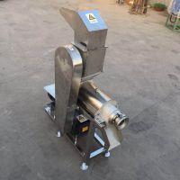黄姜破碎压榨机 商用不锈钢榨汁机 大产量榨生姜汁机
