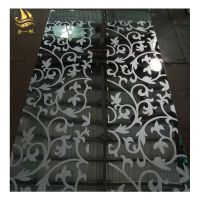佛山金一帆钛金不锈钢蚀刻板 304彩色镜面不锈钢加工板 装饰板专业表面处理