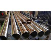 深圳市304材质不锈钢圆管 焊接货架装饰焊管