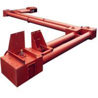 拐弯式粉料管链输送机 兴运倾斜管链输送机