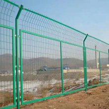 萨科双边丝护栏网厂家公路围栏网