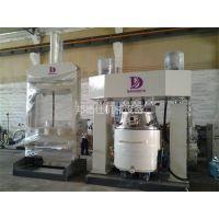 1100升强力分散机 中性硅酮耐候胶生产设备 邦德仕厂家