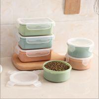 冰箱食品保鲜盒密封盒 便携儿童午餐盒 pp塑料迷你圆形塑料盒
