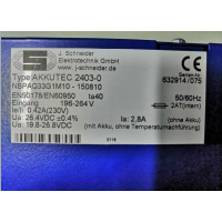 Schneide直流DC UPS电源 NBPAQ33G1M10 AKKUTEC 2403