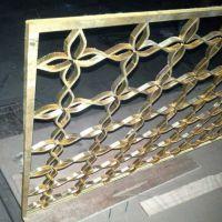 佛山大功率激光切割加工中心:激光切割黄铜 紫铜 中厚板,镂空黄铜中式屏风