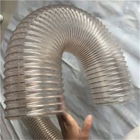 直销木工机械聚氨酯PU吸尘管车间管道通风管设备pu除尘软管