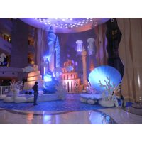 海洋主题婚礼,泡沫雕塑,卡通人物,婚礼雕塑,主题婚礼,玻璃钢雕塑,私人订制雕塑