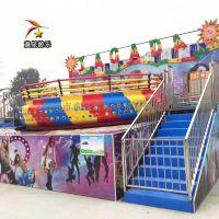 迪斯科转盘临汾童星游乐儿童公园游乐设备