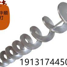 防缠绕无轴螺旋输送机 -输送量大螺旋输送机-质优价廉
