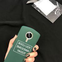潮牌创意个性墨绿色字母美图T8m6m6sm8手机壳m4s保护套男女款