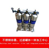 江西南丰县农村自来水井水过滤设备3吨每小时拦截泥沙过滤器 广旗牌