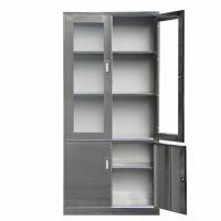 新余不锈钢304文件柜资料柜更衣柜医疗办公柜储物器械柜西药柜操作台不锈钢文件柜江西厂家直销