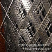 不锈钢板网钢笆网不锈钢金属网网板货架板蜂窝防眩网热镀锌钢板网