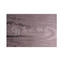 高比不锈钢腐蚀木纹装饰板/蚀刻木纹茶色不锈钢板价格