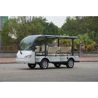 卓越供应湖南省G1S8系列八座电动观光车白色黑色