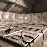 科能304不锈钢水箱直销 方形组合式焊接消防水箱 小型太阳能热水箱