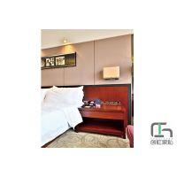 创虹酒店客房床 五星级酒店家具生产厂家 简约现代套房05