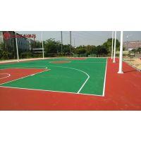 益阳室内篮球场材料批发-安化新建设学校塑胶球场施工单位