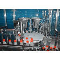 双色常压液体灌装机 连体瓶自动灌装机旋盖机