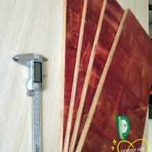 湖南橙天竹木 铁红面建筑模板 小红板 松桉板 木模板 建筑木板 松桉红板