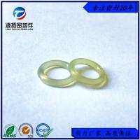 高硬度90A米黄色聚氨酯O型圈耐磨耐高压PU耐油O型密封圈