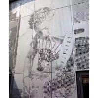 供应外墙图案铝单板 穿孔艺术铝单板设计方案 联系广东欧百建材